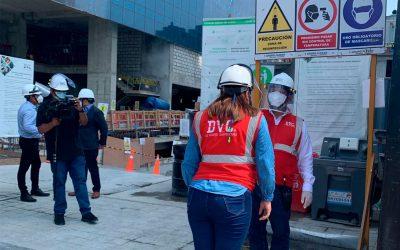Capeco visita obra de Grupo Flesan por aplicación de protocolos de seguridad en construcción